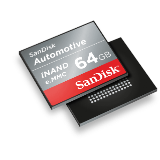Automotive iNAND Embedded Flash Drives
