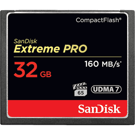SanDisk 32GB Compact Flash Card