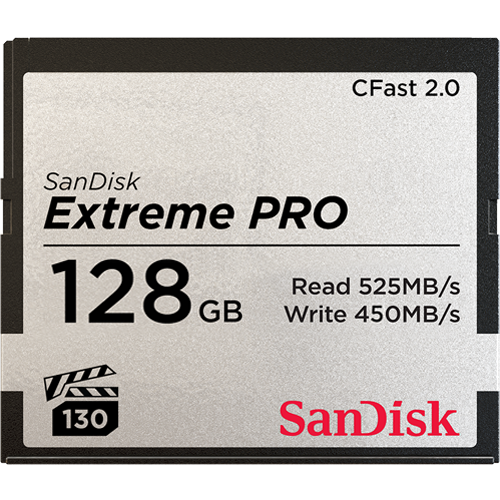 SanDisk Extreme PRO<sup>®</sup> CFast™2.0 Memory Card