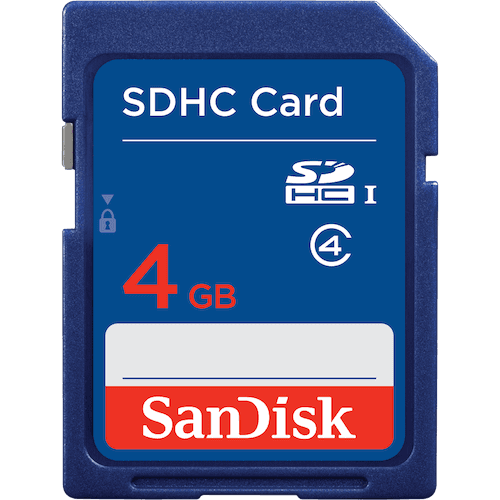 SanDisk<sup>®</sup> SDHC™/SDXC™ Memory Cards