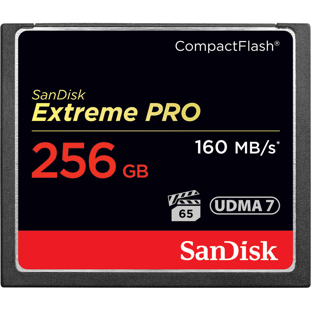 SanDisk Extreme PRO<sup>®</sup> CompactFlash<sup>®</sup> Memory Card