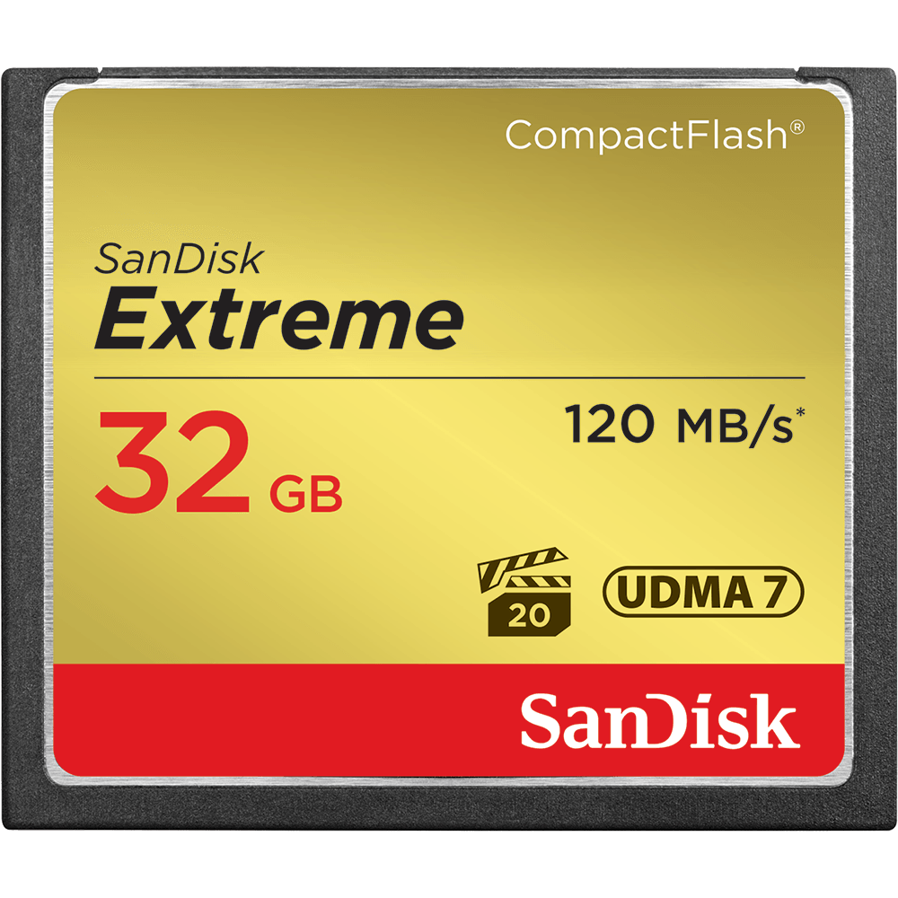 SanDisk Extreme<sup>®</sup> CompactFlash<sup>®</sup> Memory Card