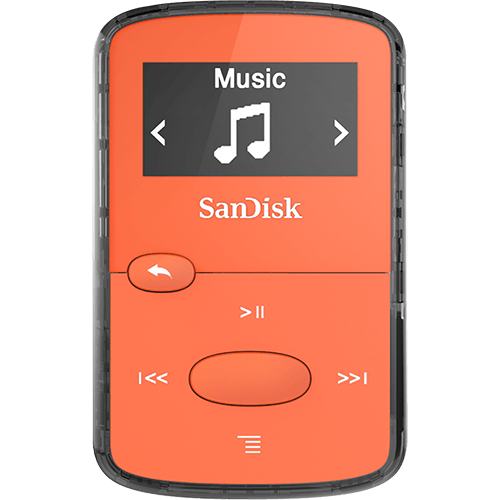 clip jam mp3 player sandisk